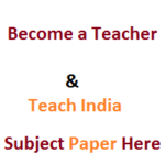 TET Science Question Paper